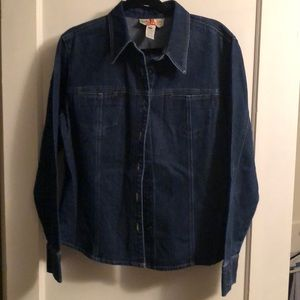 Jones New York Country Jean Shirt